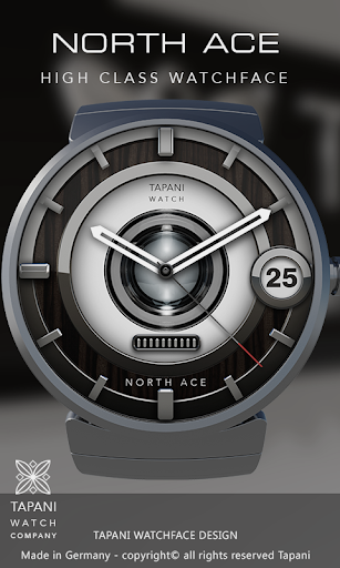 North Ace wear watch face