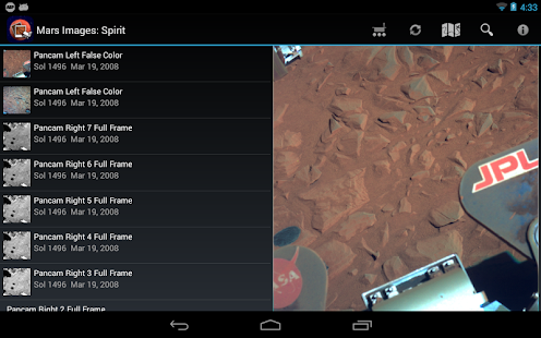 Mars Images - screenshot thumbnail