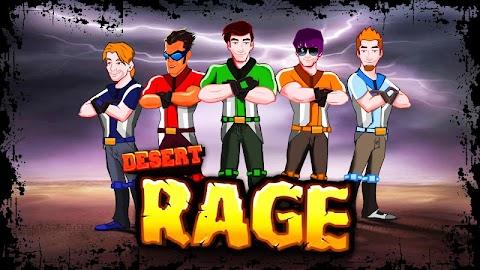 Desert Rage - Bike Racing Game Screenshot 1
