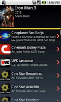 Screenshot of Cine Movil: Cartelera en Perú