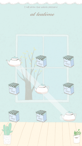 Tea time Protector Theme