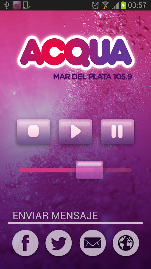 Listen Radio Acqua 105.9- screenshot