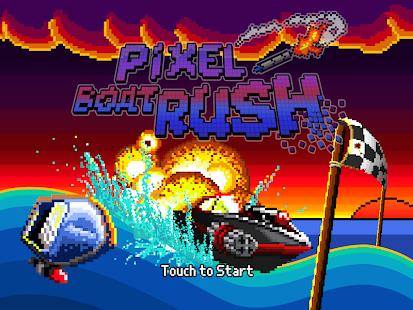 Pixel Boat Rush Screenshot 6