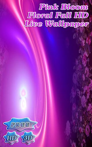 3D Pink Bloom Fall Free
