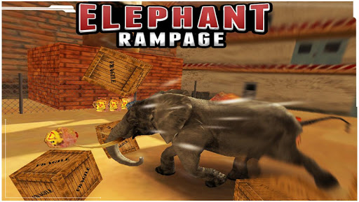 Elephant Rampage 3D Game