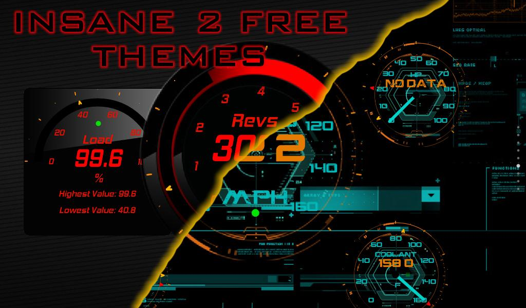 Torque Free 2 Themes OBD 2- screenshot