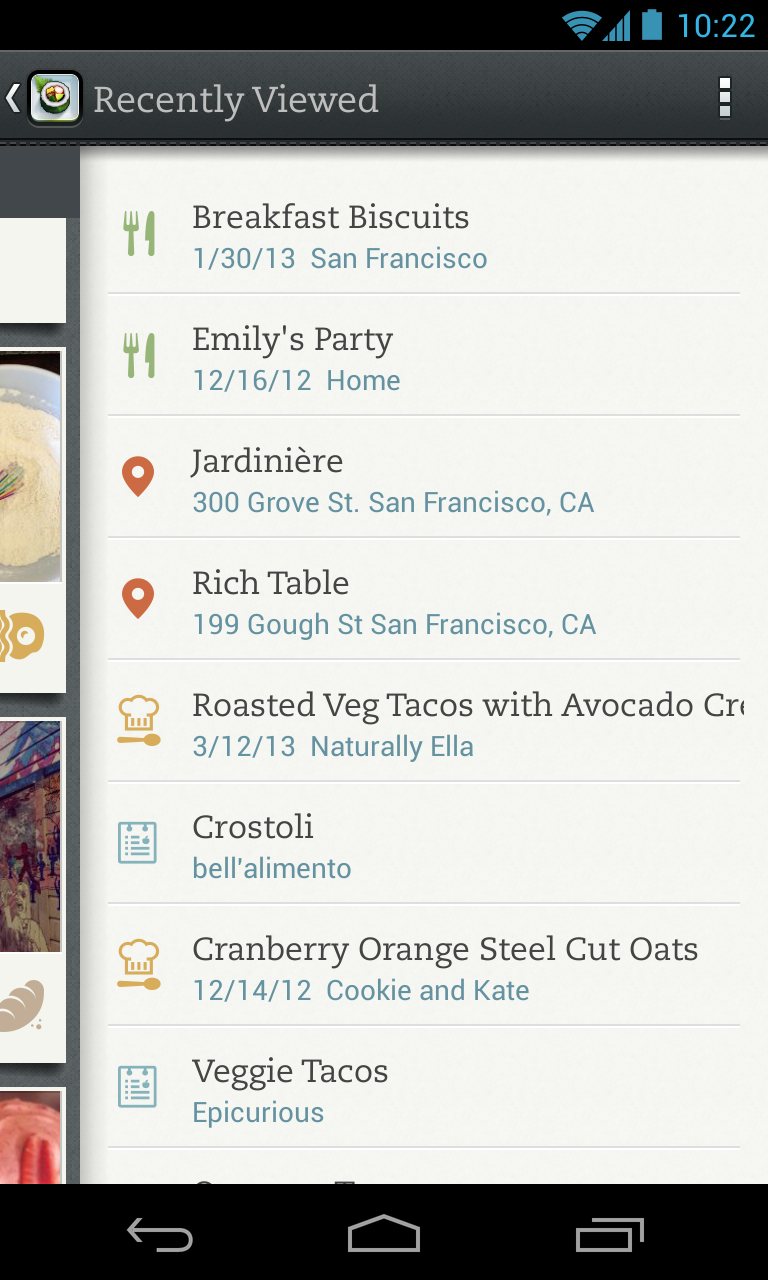 Evernote Food screenshot #16