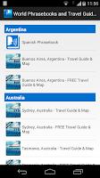 Screenshot of World Phrasebooks & Guides