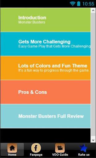 Guide All for Monster Buster