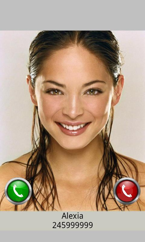 Video Full Screen Caller ID Tr - screenshot