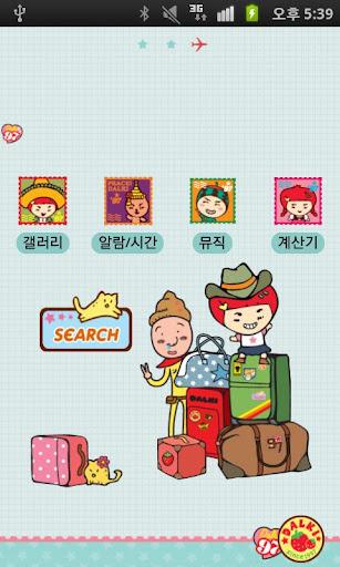 【免費娛樂App】CUKI Theme Let's go Dalki-APP點子