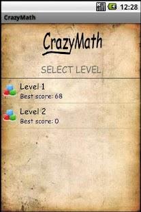 CrazyMath- screenshot thumbnail