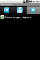 Screenshot of Spam Block Free