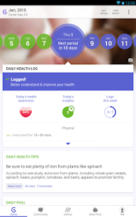 Ovulation and Period Tracker - screenshot thumbnail