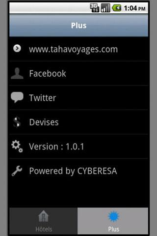 TAHA VOYAGES- screenshot
