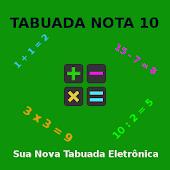 Tabuada Nota 10