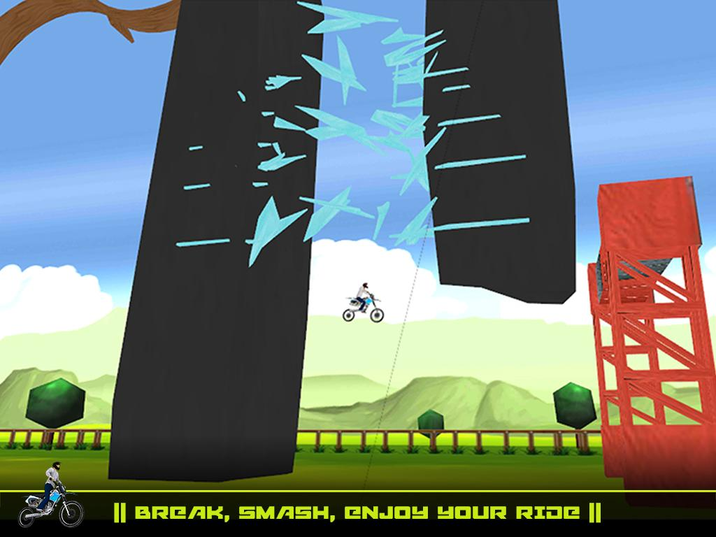 Stunt Biker Extreme Trials- screenshot