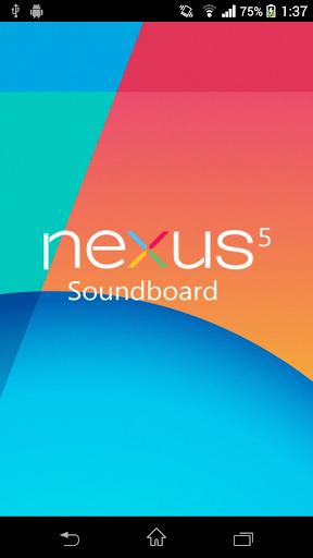 Nexus 5 Soundboard