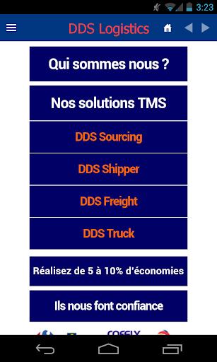 DDS Logistics Leader du TMS