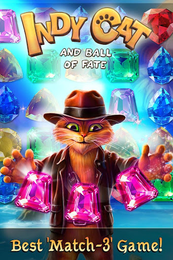 Indy Cat Match 3  {cheat|hack|gameplay|apk mod|resources generator} 1