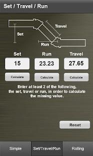 Pipe Offset Calculator- screenshot thumbnail