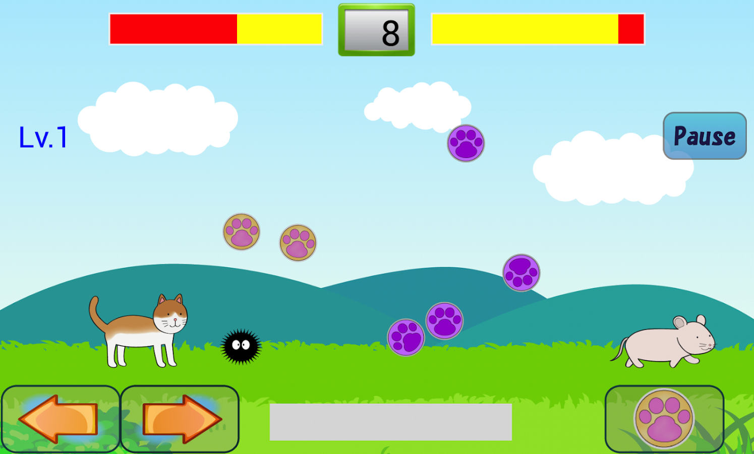 Animal Battle - Hit Balls Edit- screenshot