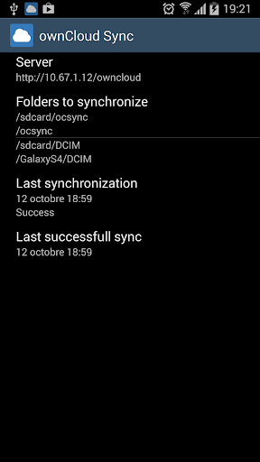 ownCloud Sync