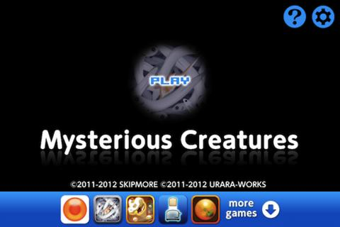 Mysterious Creatures- screenshot