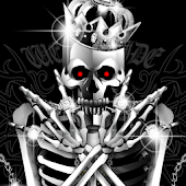 Live Wallpaper WS SKULL