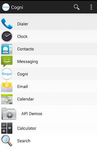 Cogni Apps Organizer