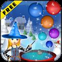 Magic Bubble Snow Witch icon