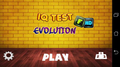 IQ Test Evolution HD Pro