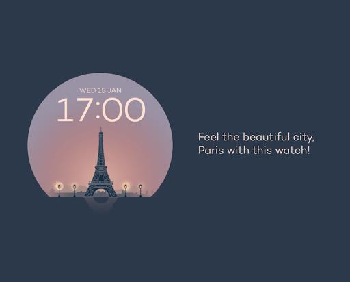 Paris watchface by Sol