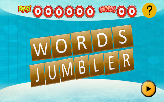 Words Jumbler apk screenshot