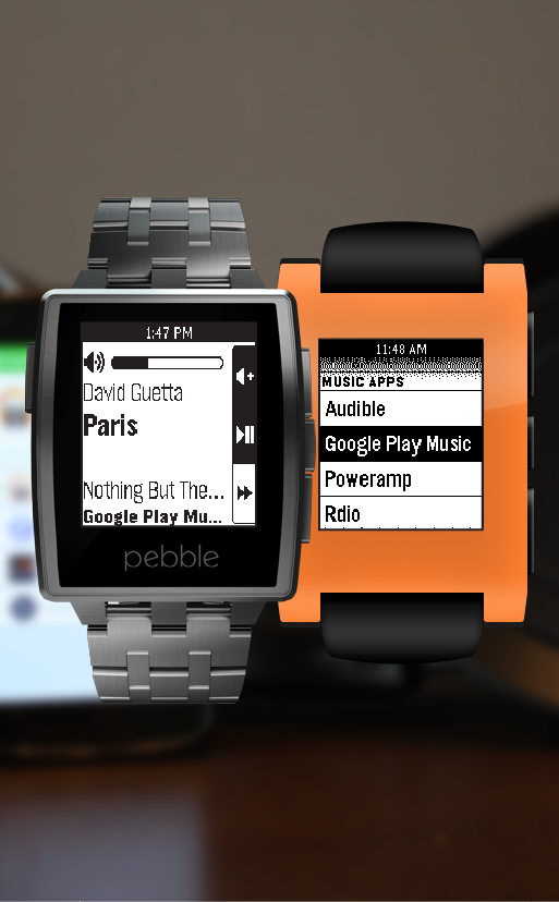 Music Boss for Pebble- screenshot