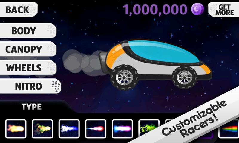 Lunar Racer screenshot #4