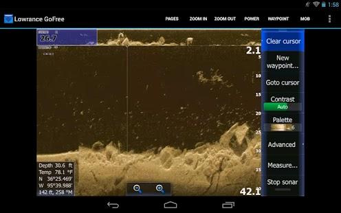 Lowrance GoFree Controller - screenshot thumbnail