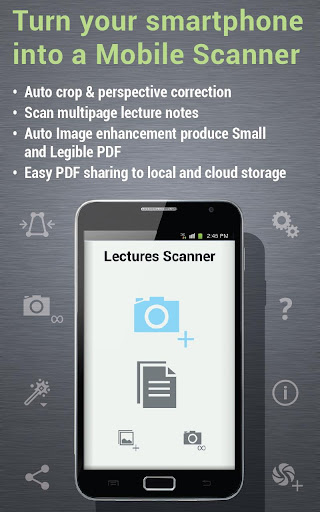 lectures scanner for students