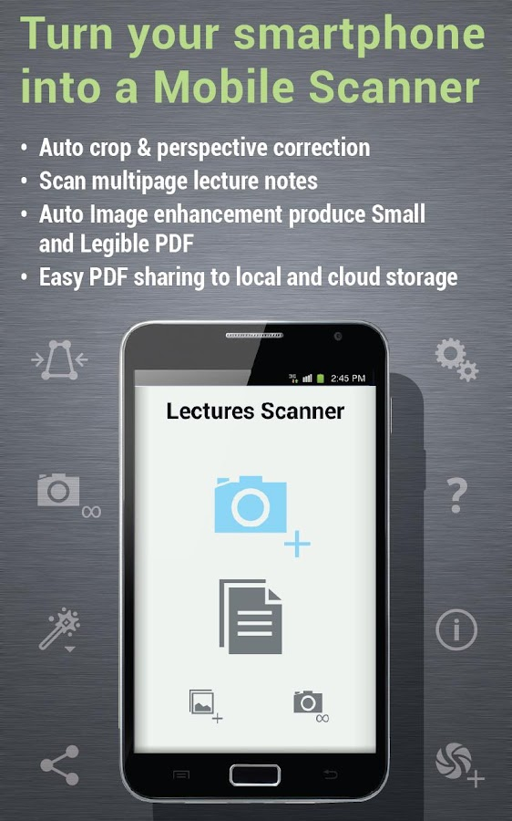 Lectures Scanner - screenshot