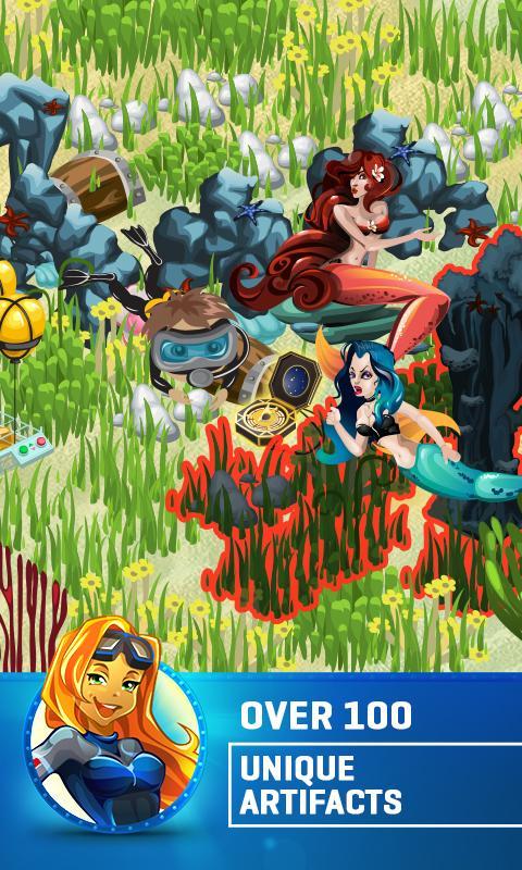 Treasure Diving- screenshot