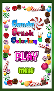 Sweet Candy Coloring