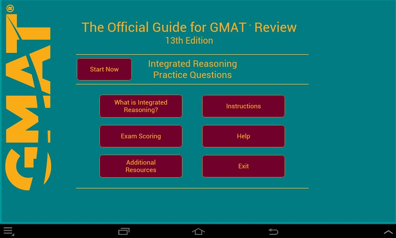gmat official guide 13th edition
