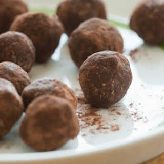 Cocoa-Oat Truffles.