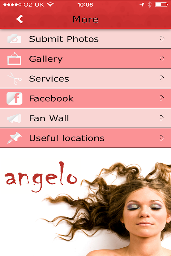 Angelo Hairdressing - screenshot