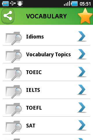 Sample Advanced Vocabulary