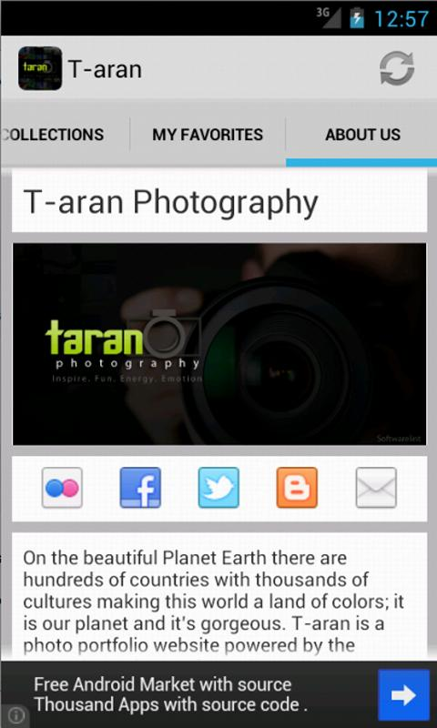 T-aran Photography - screenshot