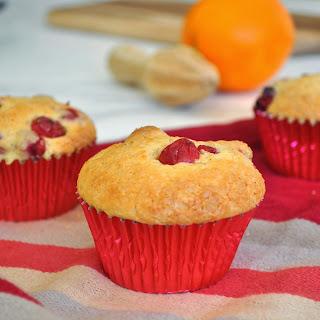 Cranberry Muffins.