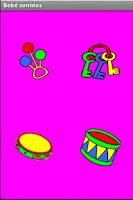 Screenshot of Bebé Sonidos