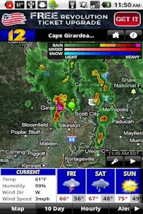 KFVS12 StormTeam Weather - screenshot thumbnail