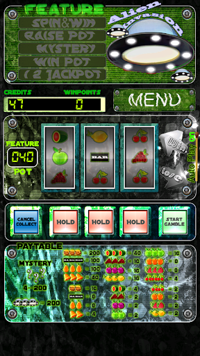 Alien invasion - Slot Machine